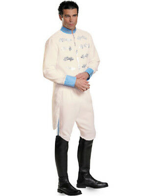 Disney Cinderella Prince Charming Mens Adult Size XL  Deluxe Costume #87047C - Mens Disney Costume