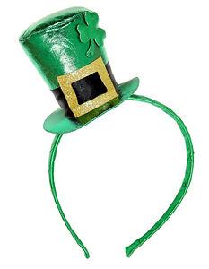 St. Patricks Day Minihut NEU - Karneval Fasching Hut Mütze Kopfbedeckung