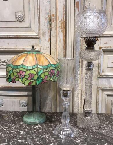 Tiffany style antique lamp