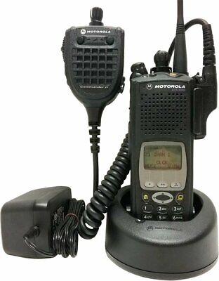 Motorola Astro Xts 5000 Iii 7800 Mhz P25 Digital Two Way Radio Commander Ii Adp