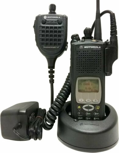 Motorola ASTRO XTS 5000 III 7/800 MHz P25 Digital Two Way Radio Commander II ADP
