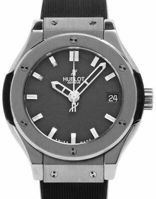 Hublot Classic Fusion 581.NX.1171.RX Titanium Quartz Watch, 2019