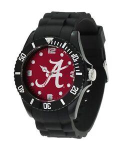 Alabama crimson Tide NCAA Men's Black Sparo Spirit Watch