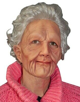 Supersoft Old Woman Mask](Old Woman Mask Halloween)