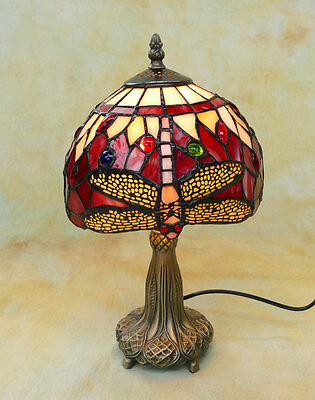 Tiffany Tischlampe Dragonfly Libelle Tiffanylampe Lampe TE16-a
