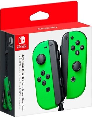 Joy-Con (L/R) Wireless Controllers for Nintendo Switch - Neon Green