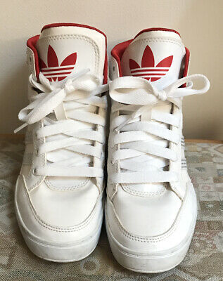 Adidas White High Top Trainers Size 6