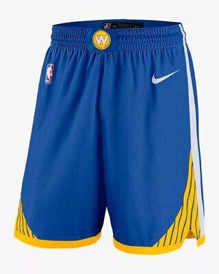 Men's Nike NBA Shorts Golden State Warriors Icon Edition Swingman