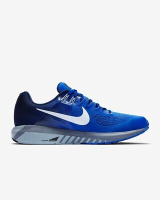 Nike Zoom Structure 21 UK 8 Mens Running Shoe Trainer Blue NEW 904695-402