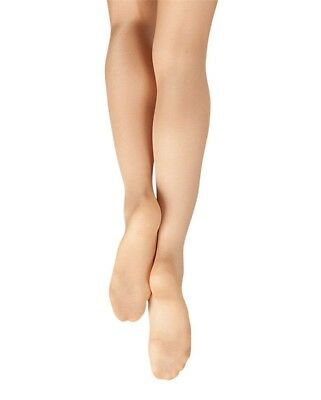 Capezio Big Girls Ultra Shimmery Footed Tight  All Sizes