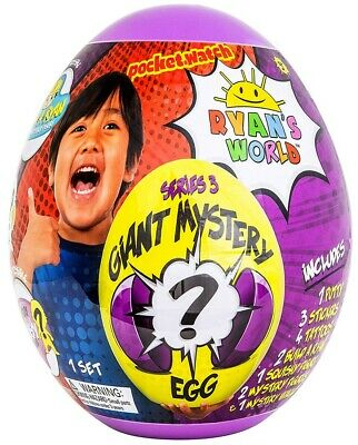 Ryan's World Series 3 Giant Egg Mystery Surprise [Purple]