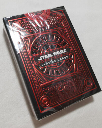 Star Wars Playing Cards NEW Dark Side Galaxy Edge Red theory11 theory card set