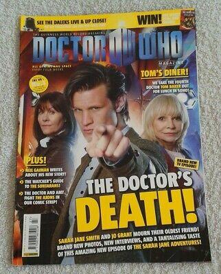 Doctor Who Magazine - Issue 427 - Neil Gaiman / Tom Baker / June Hudson