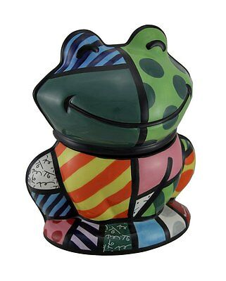 Romero Britto Ceramic Cookie Jar by Westland Gifts