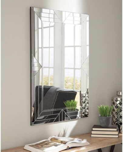 Coaster Home Furniture 903107 Home Accents Geometric Mirror Living Room