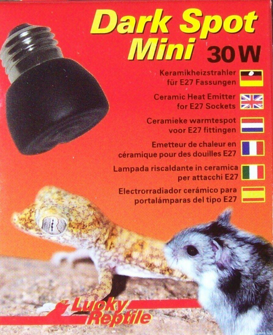 Lucky Reptile Dark Spot Mini 30W Keramikstrahler Dunkelstrahler Wärmelampe