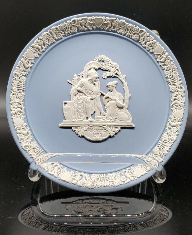 Wedgwood Valentine Plate 1993 Pristine Helen and Paris