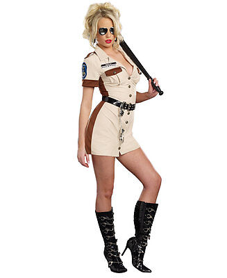Dont Stop Cop Sexy Womens Costume - Dreamgirl - Cop Womens Kostüm