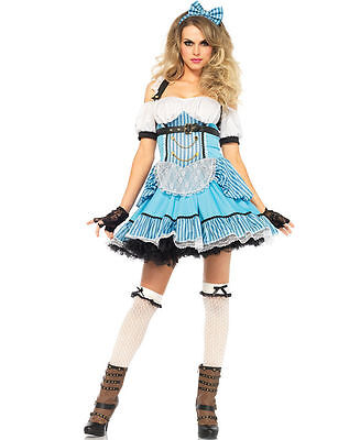 Rebel Costumes (Rebel Alice Costume for Women (all sizes) Wonderland New by Leg Avenue)