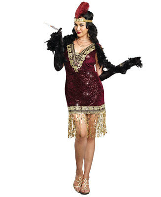New Dreamgirl 9837X Plus Size Sophisticated Lady Sexy Womens Costume