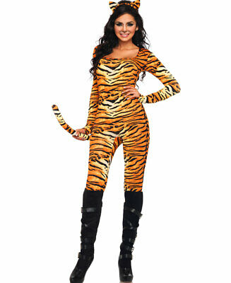 Wild Tigress Adult Halloween Costume - Leg Avenue - Wild Tigress Kostüm