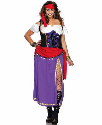 New Leg Avenue 85014X Traveling Gypsy Adult Halloween Costume