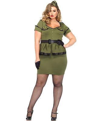 Commander Cutie Plus Size Costume for Women (2 sizes) New by Leg Avenue - Costumes For Plus Size Ladies