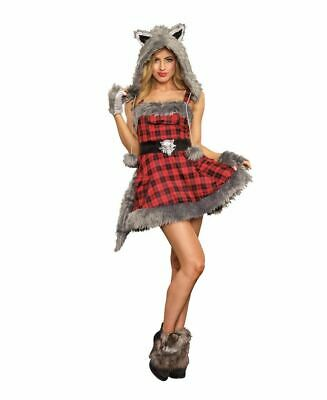 New Dreamgirl 11182 Cute Big Bad Wolf Costume