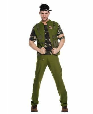 Men's Army General Costume - Music Legs 76625](Army Men Costumes)