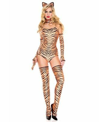 New Music Legs 70649 Pouncing Tiger Costume (Tiger Costume Women)