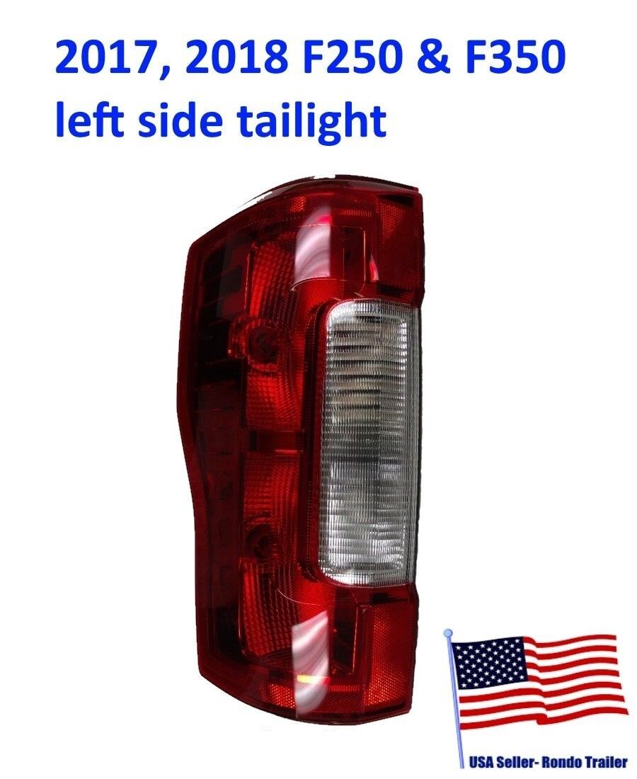 2017 2018 OEM Ford F250 F350 Super Duty Tail Light Lens No LED No Blind No Bulbs