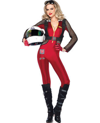 Female Race Car Driver Pitstop Penny Adult Costume (E)
