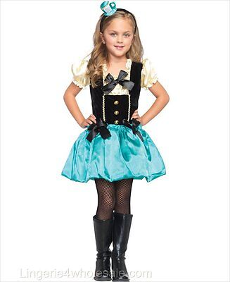 Tea Party Princess Costume for Toddler size 3-4 New by Leg Avenue C48116 - Costume For 3