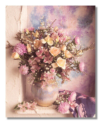 - Southwestern Floral Arrangement Rose Flower Photo Wall Picture 8x10 Art Print