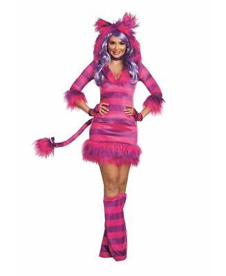 Dreamgirl Märchenbuch Magic Katze Sexy Kleid Erwachsene Damen Halloween Kostüm