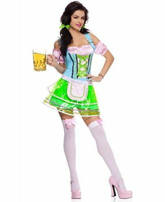 New Music Legs 70498 Adult Beer Hall Babe Costume (Beer Babe Costume)