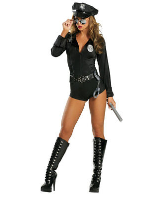 New Roma Costume 1212 Lady Cop Costume