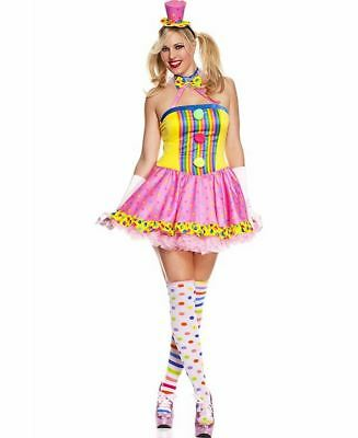 Plus Size Circus Cutie Clown Costume - Music Legs 70494Q](Plus Size Clown Costume Women)