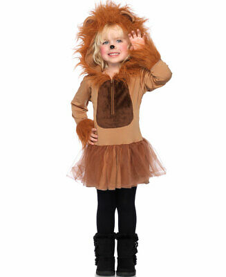 New Leg Avenue C48209 Cuddly Lion Toddler Baby Costume ()