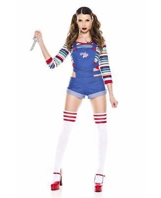 Killer Doll Kostüme (Nightmare Killer Doll Costume - Music Legs 70870)