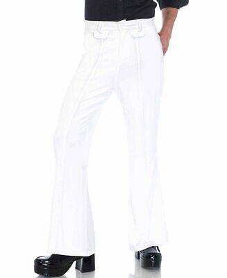 White Men'S Bell Bottom Pants - Leg Avenue 86641](Mens White Bell Bottom Pants)