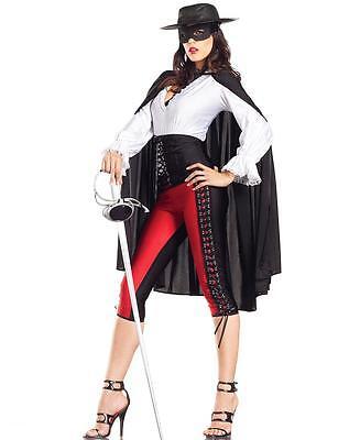 Zorro Sexy Bandit Adult Halloween Costume - Be Wicked BW1122](Halloween Bandit Costume)
