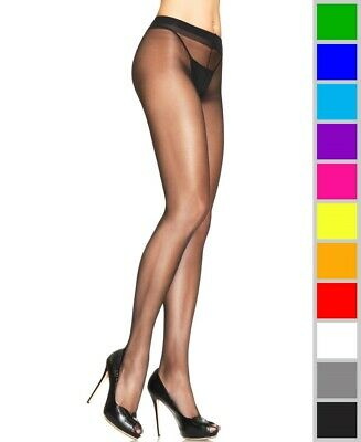 Leg Avenue Lycra Sheer (New Leg Avenue 0907 Spandex Lycra Sheer Support Tights Pantyhose)