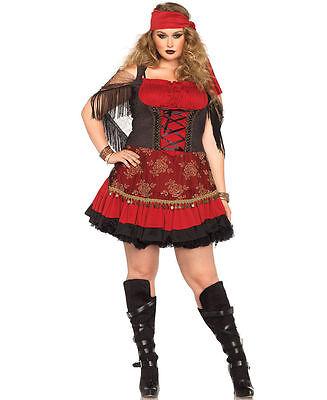 lus Size Costume for Women (all sizes) New Leg Avenue 85381X (Plus Size Gypsy Kostüme)