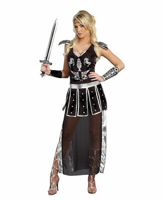 Glorious Gladiator Womens Costume - Dreamgirl 9826