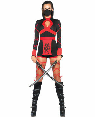 Dragon Ninja Halloween Costume (Dragon Ninja Halloween Costume - Leg Avenue)