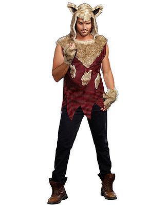 Big Bad Wolf Adult Costume - Dreamgirl 9493 (Big Bad Wolf Costumes)