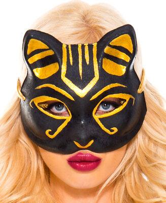 Egyptian Cat Masks (Egyptian Cat Mask - Music Legs)