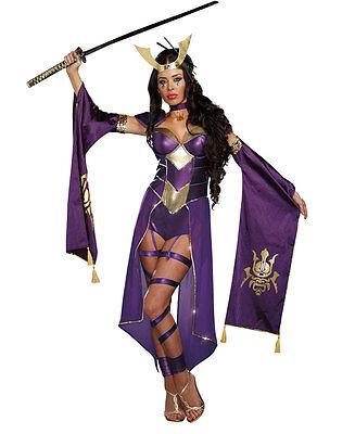 Mortal Samurai Womens Costume - Dreamgirl 9855 - Samurai Costume