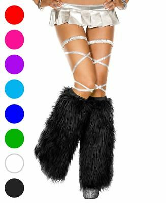 Furry Leg Warmers - Music Legs 5535
